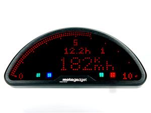 メーターはMotogadget製「motoscope pro」