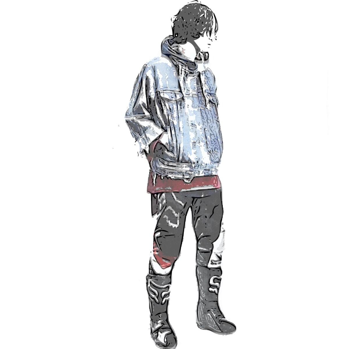 モトクロススタイルのファッション