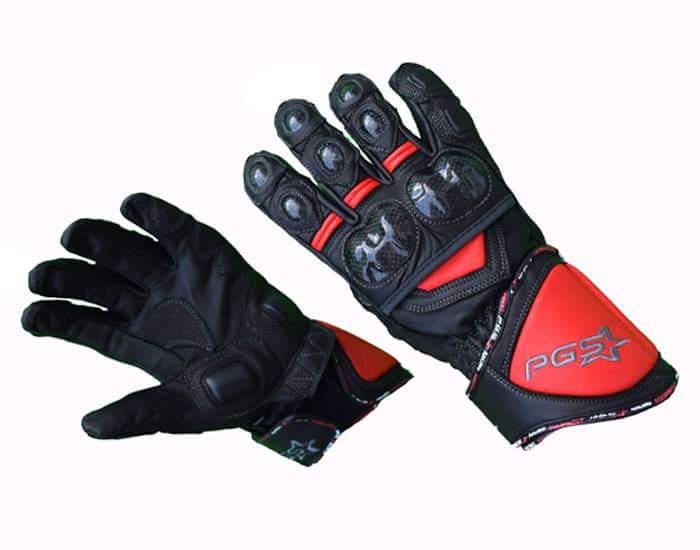 PGS motorcycle riding gloves short term review