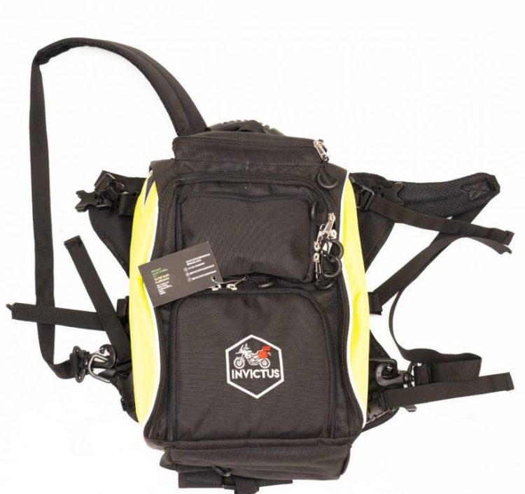 invictus marshal tail bag top view
