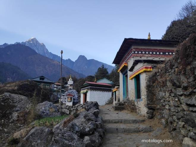 Route to Namche Road trip
