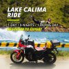 one day motorcycle tour colombia, motorcycle africa twin, destiny lake calima