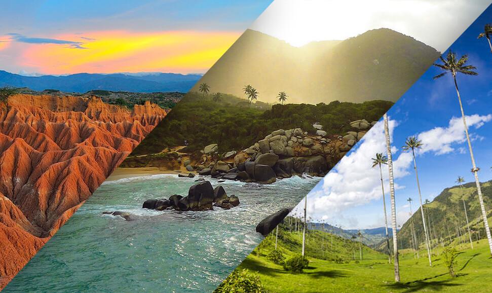 Resultado de imagen de natural tourism landscape