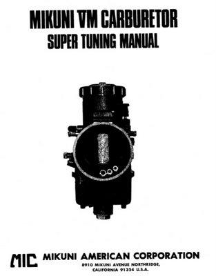 Mikuni bst36 Carb manual