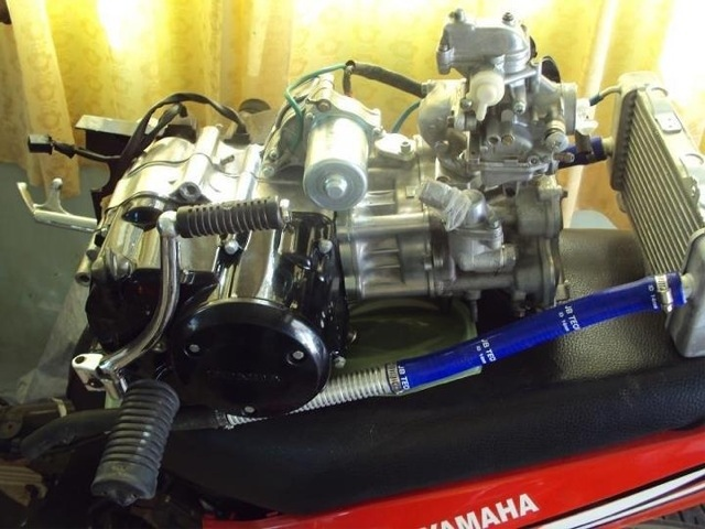Honda EX5 Dream with 135LC Cylinder Head and Block Modified