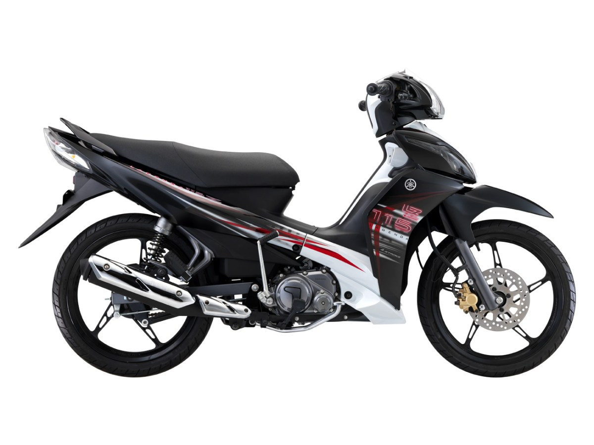 Official Pictures Of The 2012 Yamaha Lagenda 115Z Black