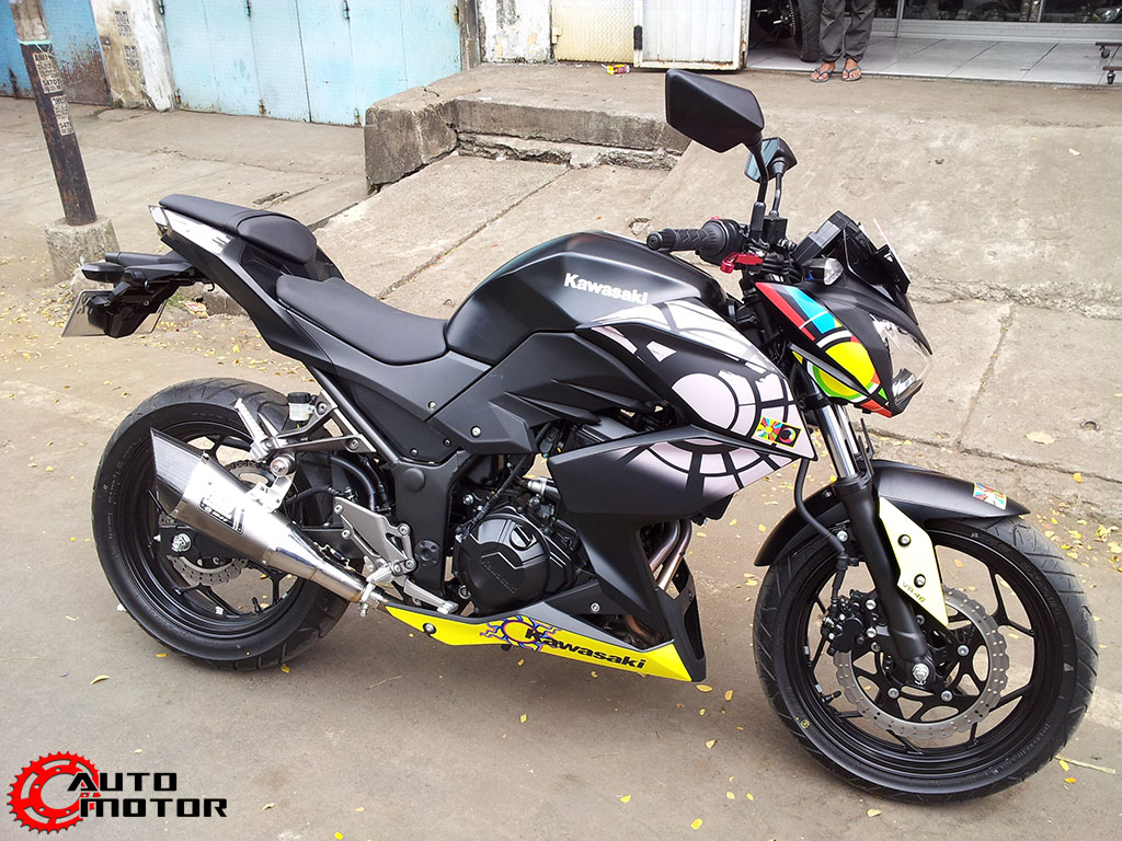 2013 Kawasaki Z250 Vr46 Mod By Andrey Philipus Indonesia