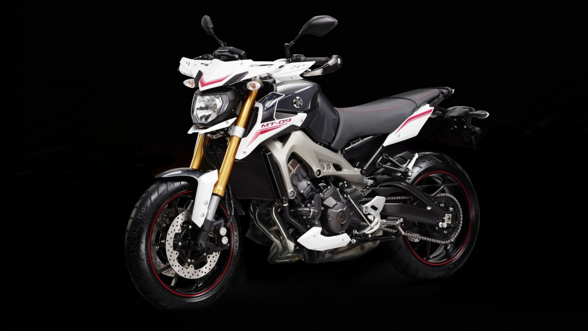 2014 Yamaha MT-09 Street Rally in UK – the more radical version