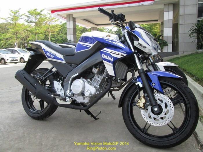 2014 Yamaha Vixion MotoGP Livery In Indonesia