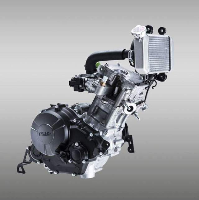 Yamaha Exciter 150 FI engine