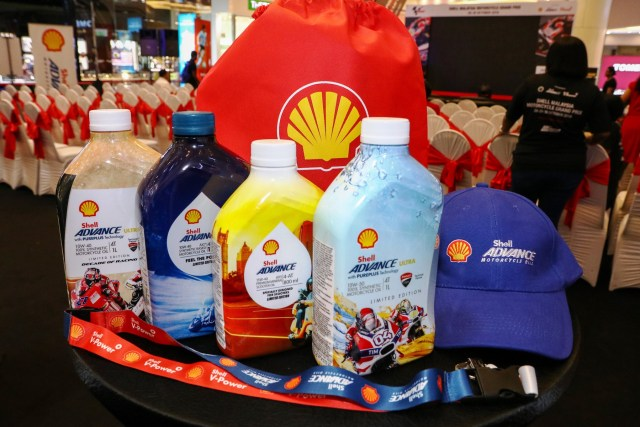 The new Shell Advance Limited Edition Packs