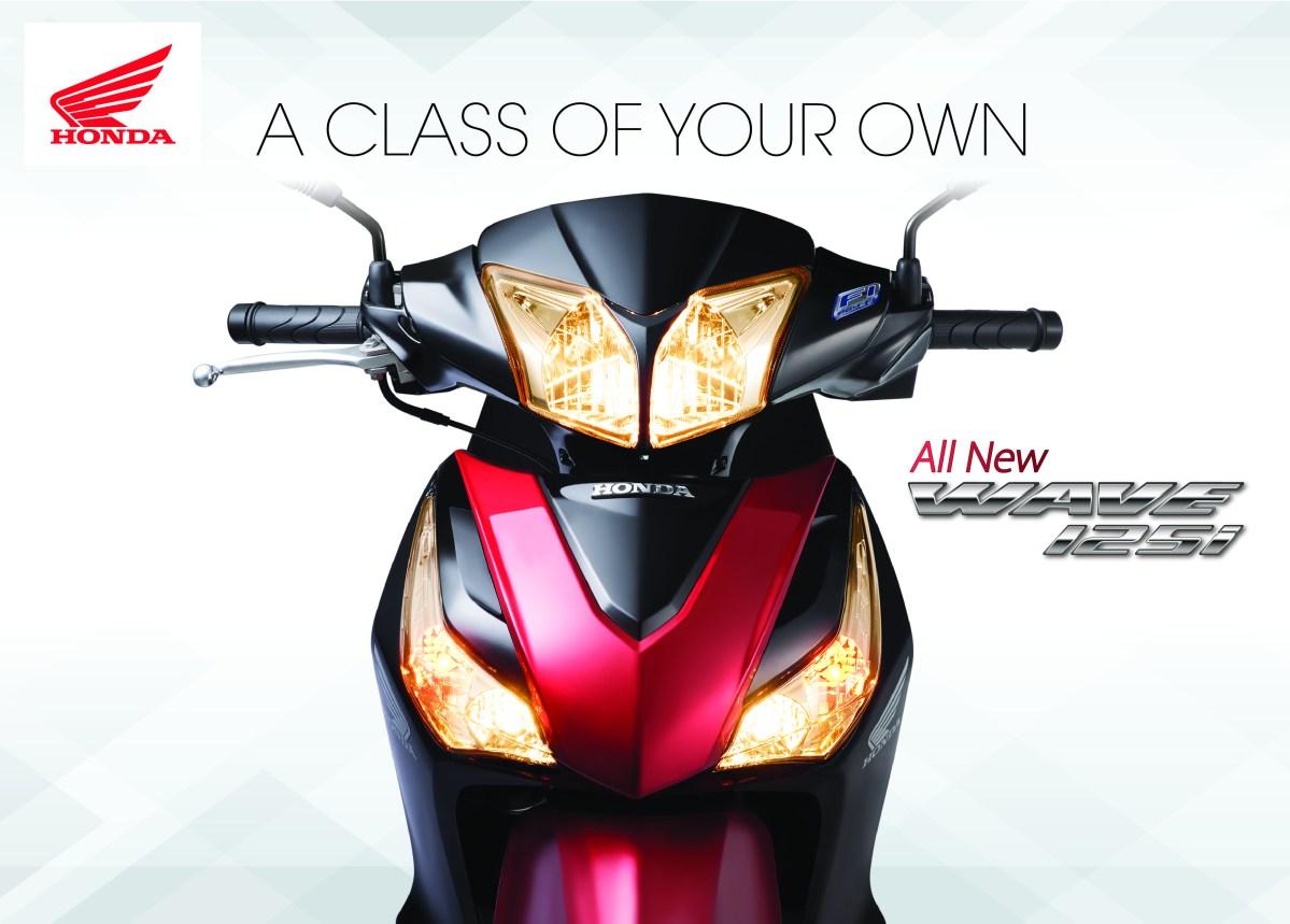 Boon Siew Honda melancarkan 2017 Honda Wave 125i -RM6,263.54 dan RM6,549.74