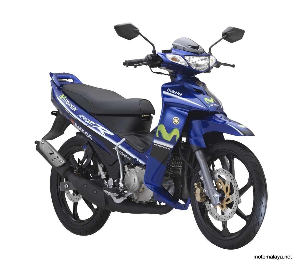 2017 Yamaha 125ZR Movistar Edisi Terhad - hanya 5000 unit siap bernombor siri - RM8,361.28 (asas tidak termasuk GST)