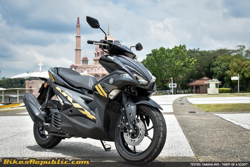 Diuji: Yamaha NVX – Jentera Skuter Yang Menyeronokkan