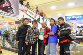 Dari kiri : Arif Dadot, Bayu Aragani, Wiro S Poerwoko, Ompuns, fncounter