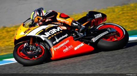 Aleix Espargaro, Forward Yamaha, Jerez