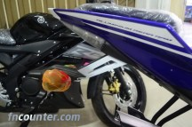 Yamaha YZF-R15, Tail Look
