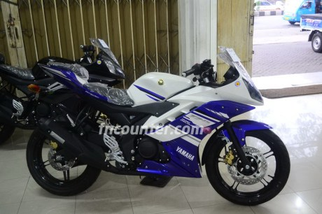 Yamaha YZF-R15, Blue-White and Black