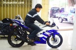 Yamaha YZF-R15, Tes Ergonomi