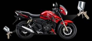 TVS-Apache-180-xventure-red