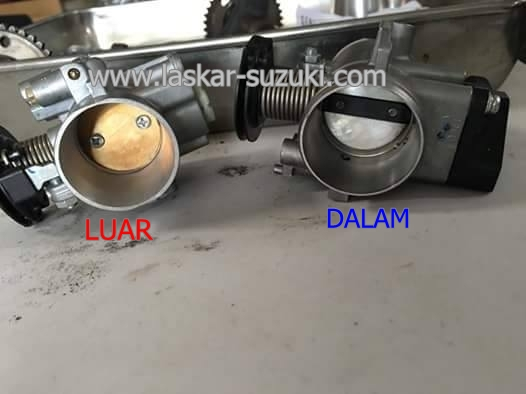 Throttle Body Satria FU 150 FI