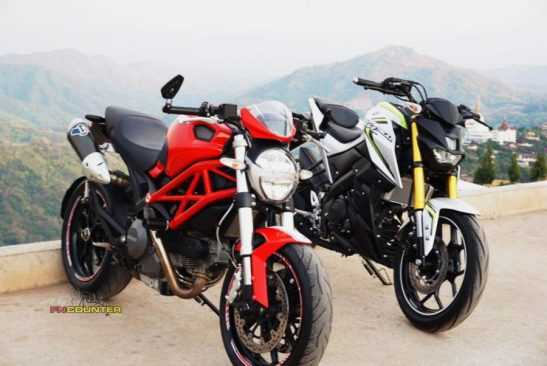 Xabre 150 vs Ducati Monster 2