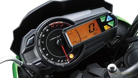 Kawasaki Z125 Indonesia panel speedometer