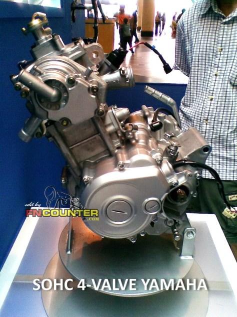 SOHC ENGINE 4-VALVE YAMAHA