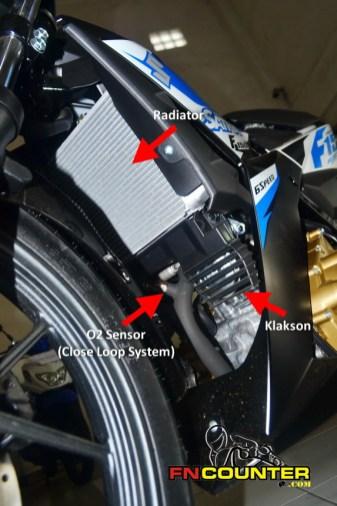 Satria F150 FI - Radiator
