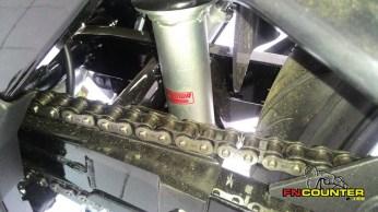 Satria F150 FI - Suspensi Belakang
