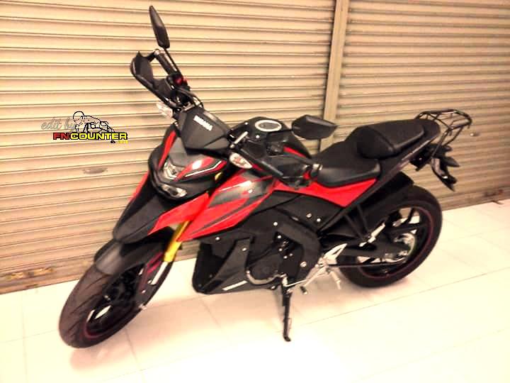 Modifikasi Yamaha Xabre 150 Hyperstrada Makin Pede Dengan