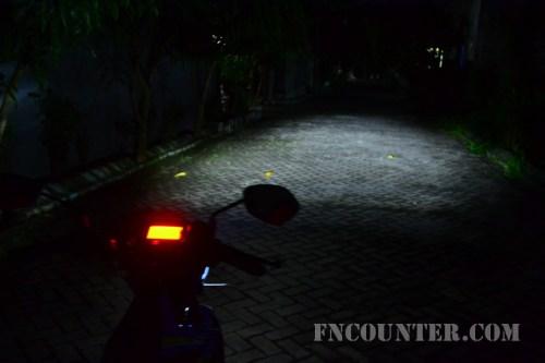 All New Satria FU FI - Headlight Low Beam 2