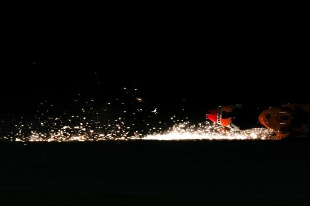 Marquez Qatar Test Crash