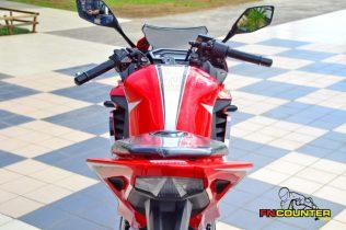 all new CBR150R Rear Look