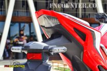 all new CBR150R Tail Lamp Desain