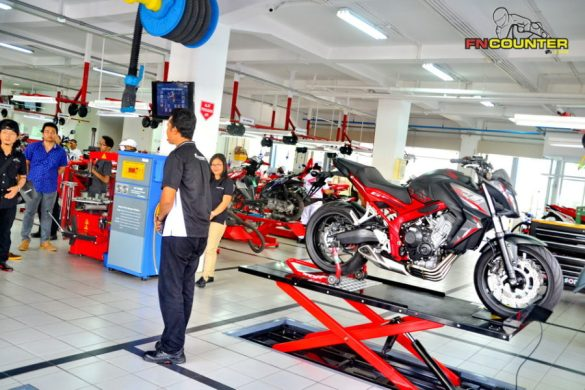 honda big wing 18