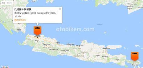 KTM Map Indonesia