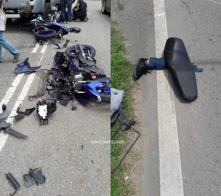 Laka Rider Yamaha Y15Z Kaki Patah5