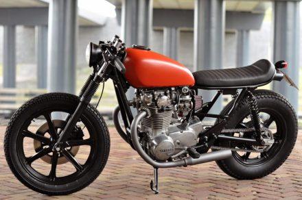 Yamaha XS650 Modif Cafe Racer 3