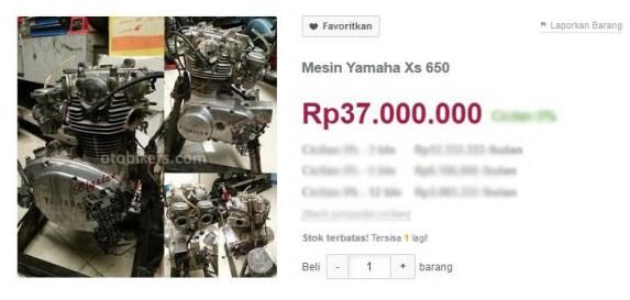 Yamaha XS650a