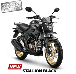 2017 cb150r stallion black