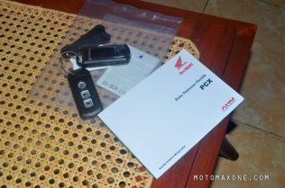 buku pedoman dan smartkey pcx 150 malang motomaxone