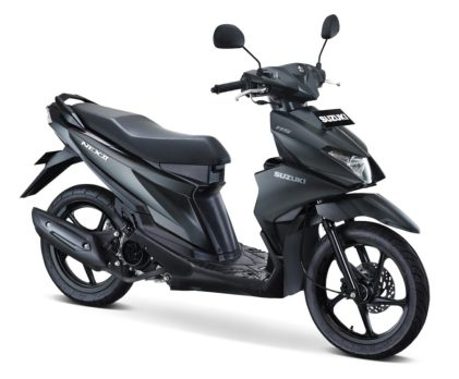 Suzuki NEX II Elegant Standard Solid Black 2