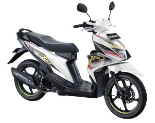 Suzuki NEX II Fancy Dynamic Brilliant White 2