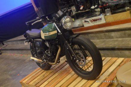 kawaskai SG175 brat style surapita unitrans motomaxone 8