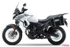 kawasaki versys-x 250 tourer kawasaki jatim kawasaki malang motomaxone 3 Pearl Blizzard White x Metallic Matte Carbon Grey