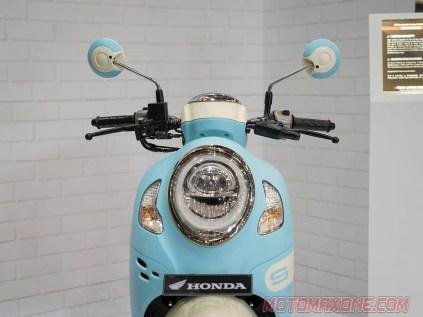 Modifikasi All New Honda Scoopy 2021 Sky Blue Makin Fashionable 7