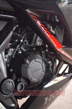 First Ride All New Honda CBR150R 2021 Engine