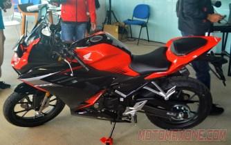 First Ride All New Honda CBR150R 2021 HM 1