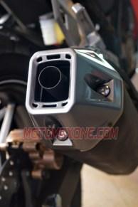 First Ride All New Honda CBR150R 2021 knalpot